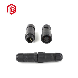 Popular Connector in China LED Lighting Circular M14 3pin Junction Connectors