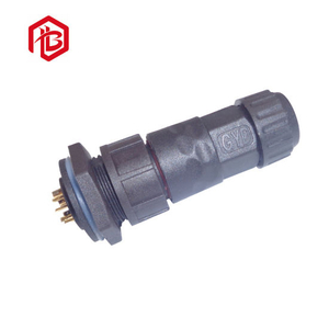 Male to Female Socket Connector Panel Mount Plug