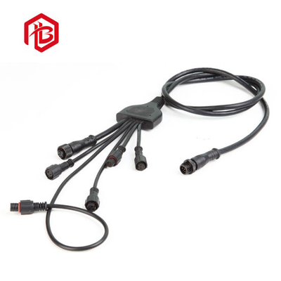 IP68 Male to Female 5 Pin Electrical Y-Connector Waterproof Male and Female