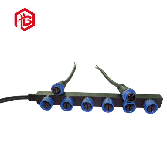 2018 New Promotion Rubber 4 Pin M15 Cable F Type Connector