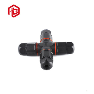 Hot Sale M20 X Type 4 Way Screw Type Waterproof Male Female Connector