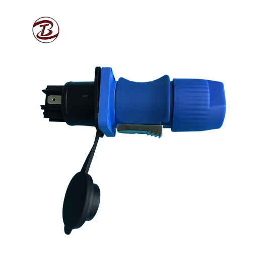 Waterproof RJ45 Connector for AC Power Transfer